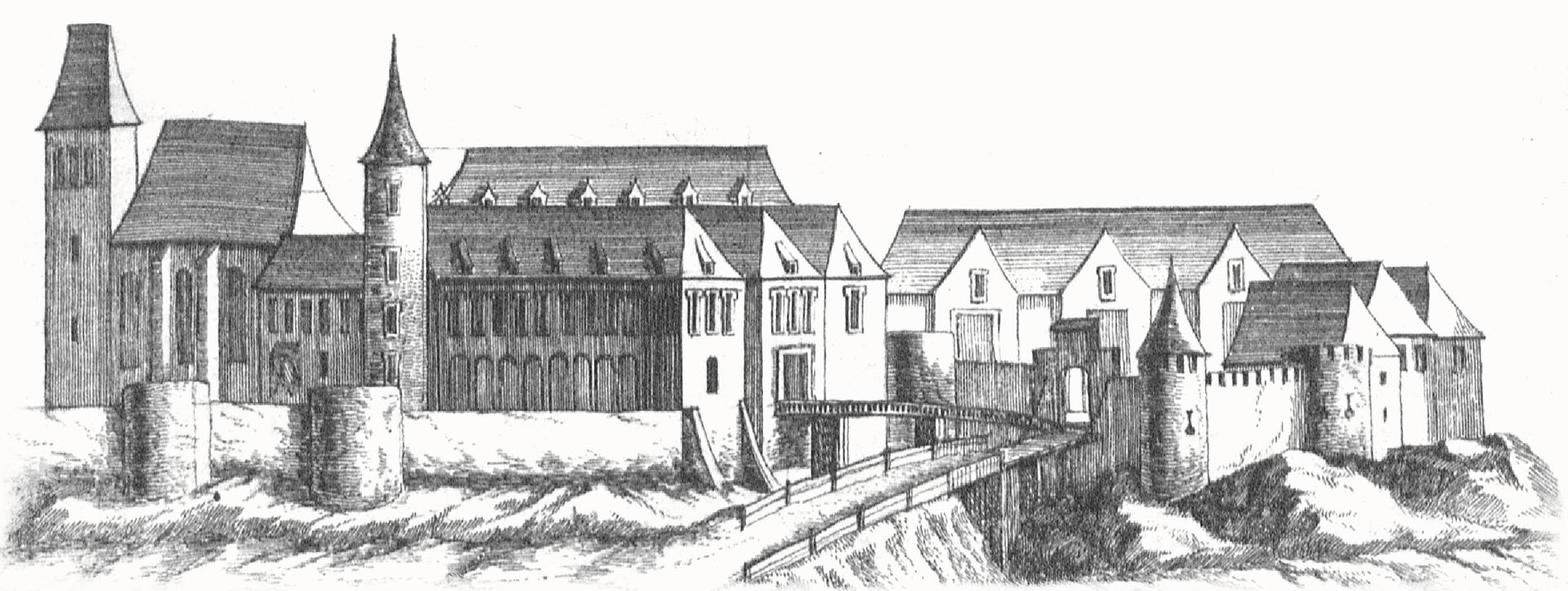 Georg Matthäus Vischer: Mailberg 1672